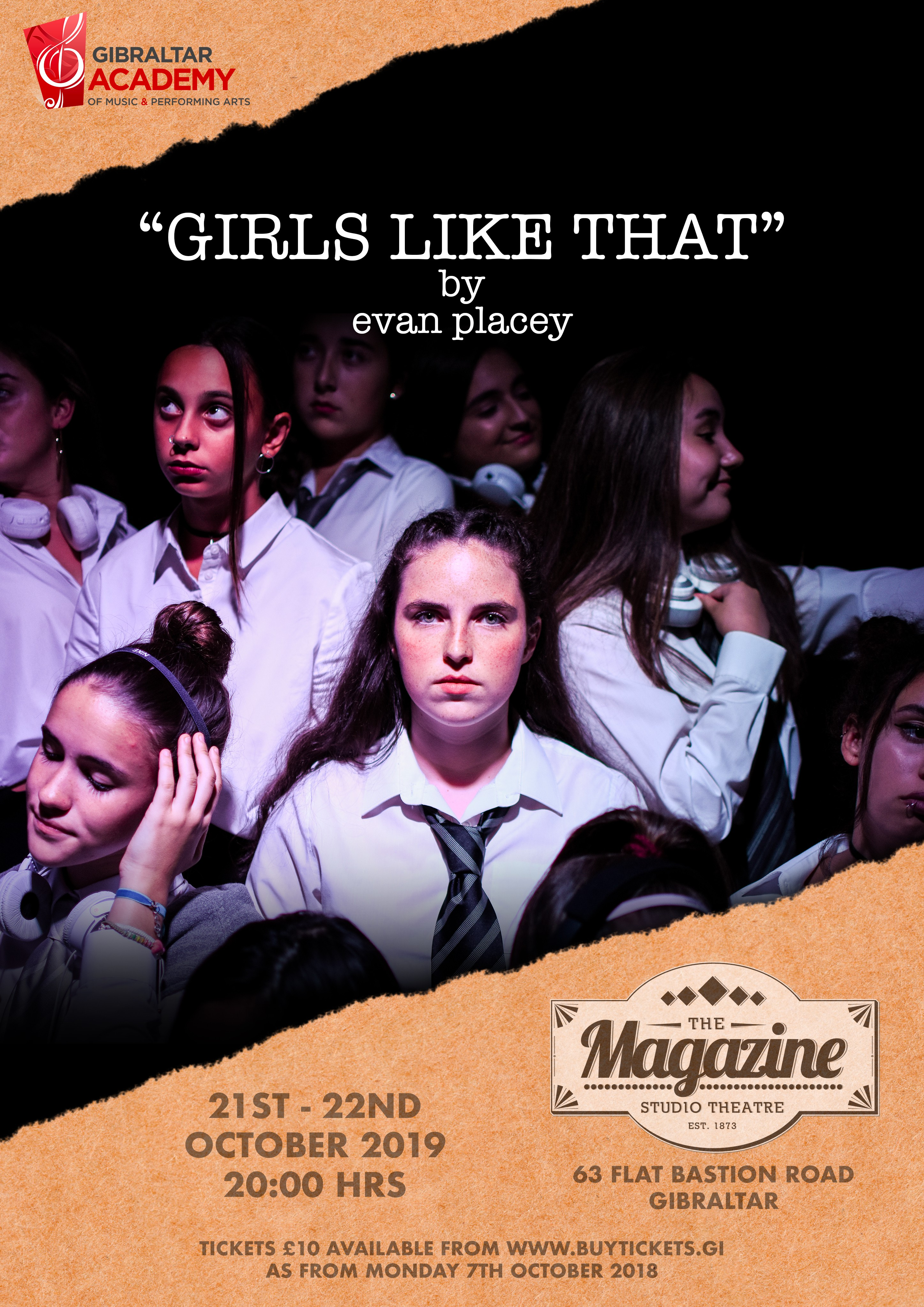 Girls Like That by Evan Placey Image